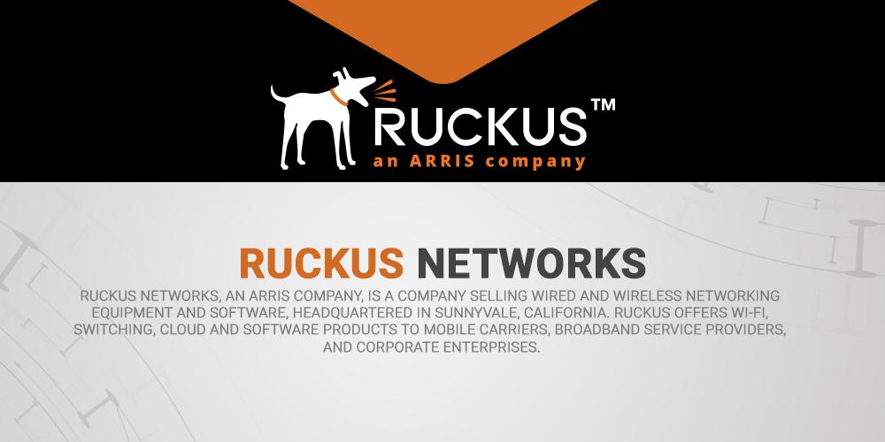 Ruckus ARRIS company