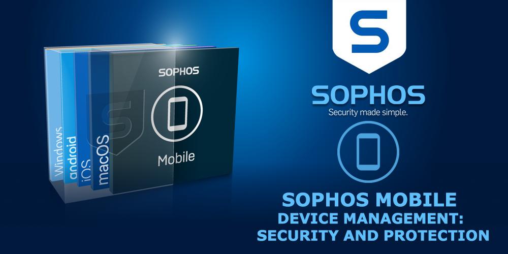 sophos central mobile admin