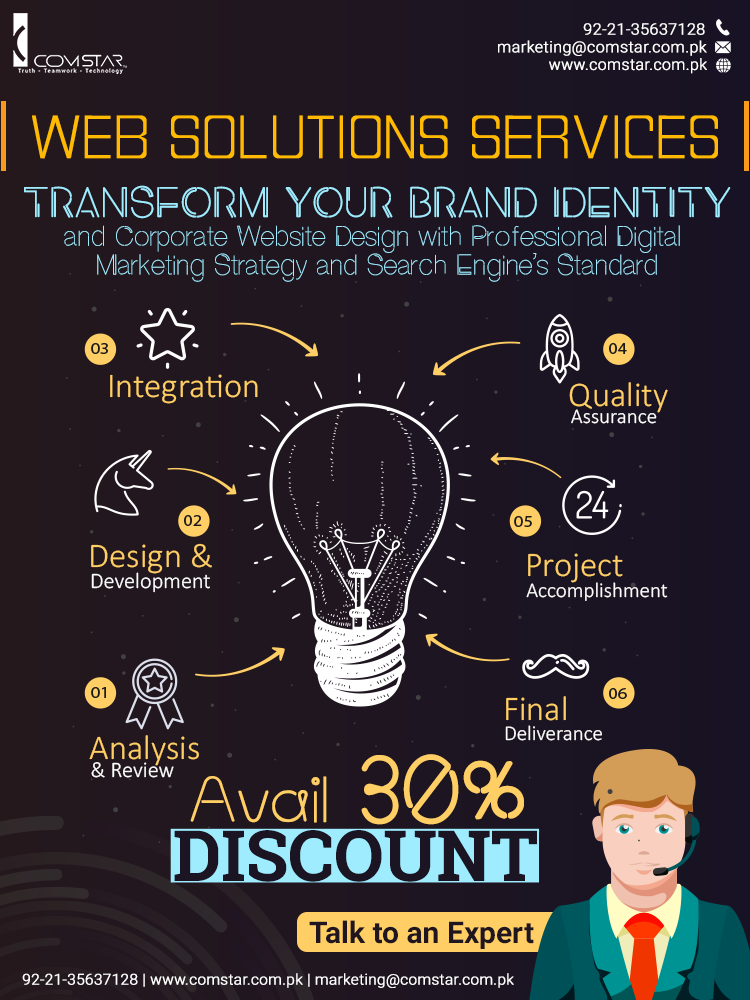 web solutions packages Pakistan