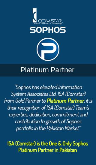 Sophos platinum partner services to manage network threat solutions